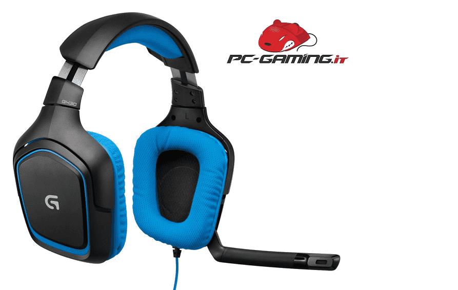 Logitech G430 Gaming Headset Recensione 7