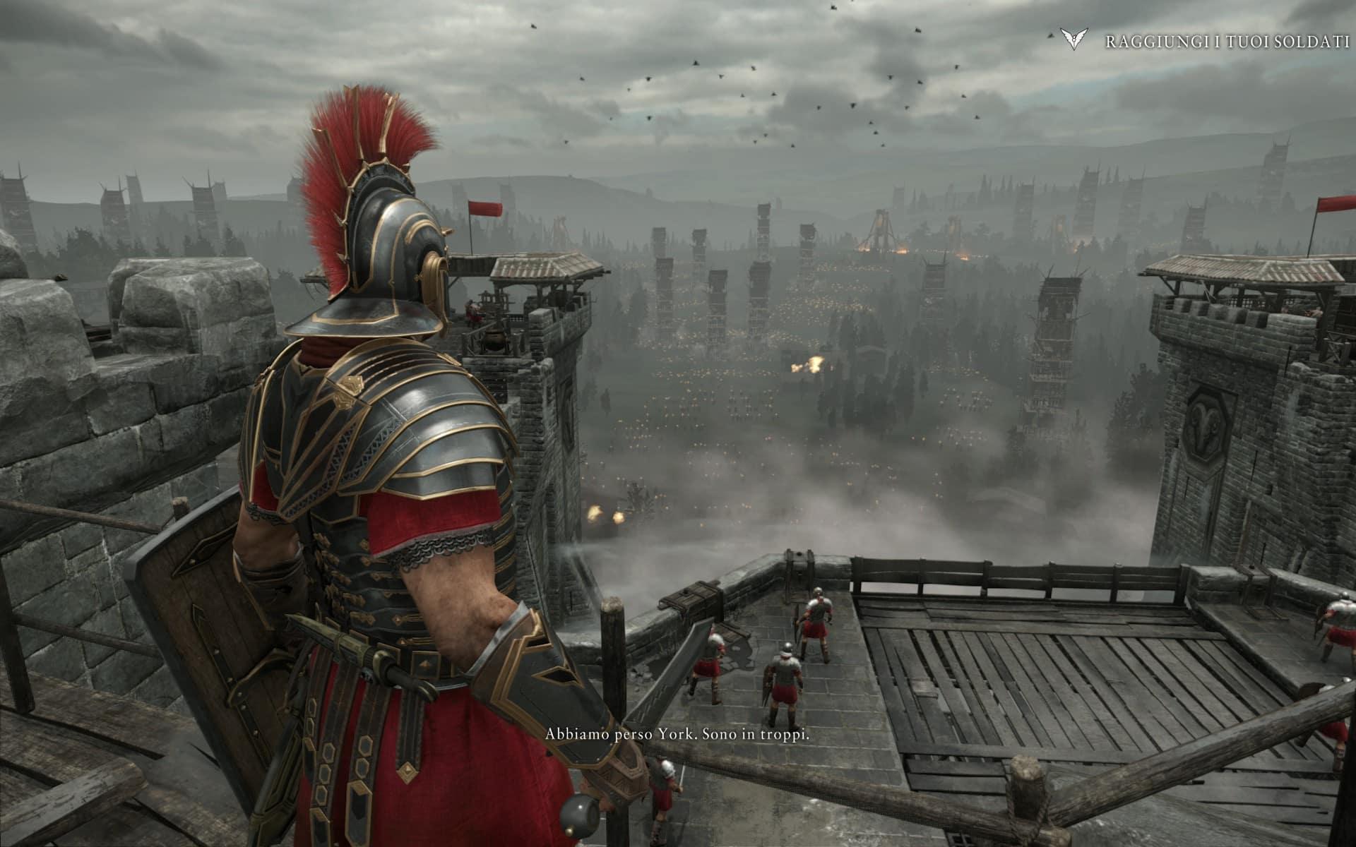 Dobbiamo sopravvivere a questo assedio, difendendo il castello con i nostri uomini.