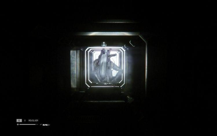 Praticamente il simbolo del gioco, l'Alieno che striscia nei condotti.