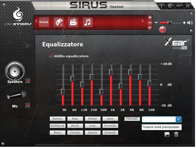 sirius audio center4