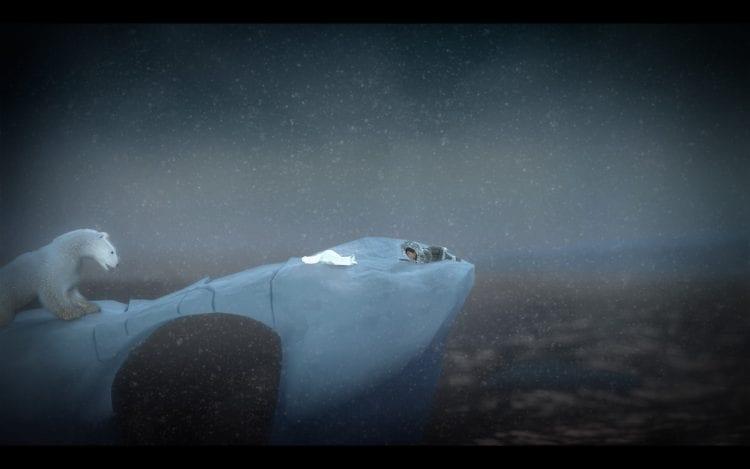 L'orso polare è uno dei pericoli che dovremmo affrontare nel nostro viaggio
