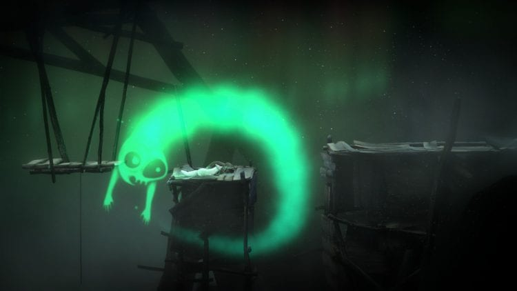 L'aurora boreale, nel gioco, è tanto bella quanto pericolosa.