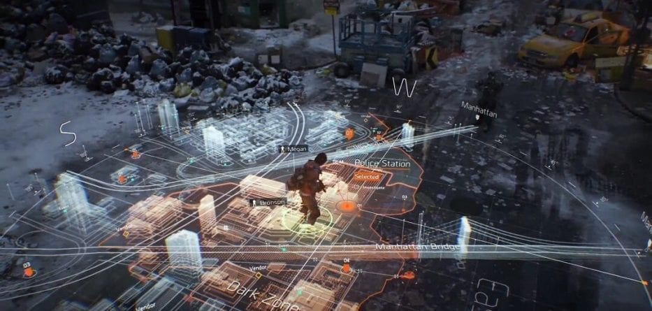 Dimensioni della beta di Tom Clancy's The Division 2