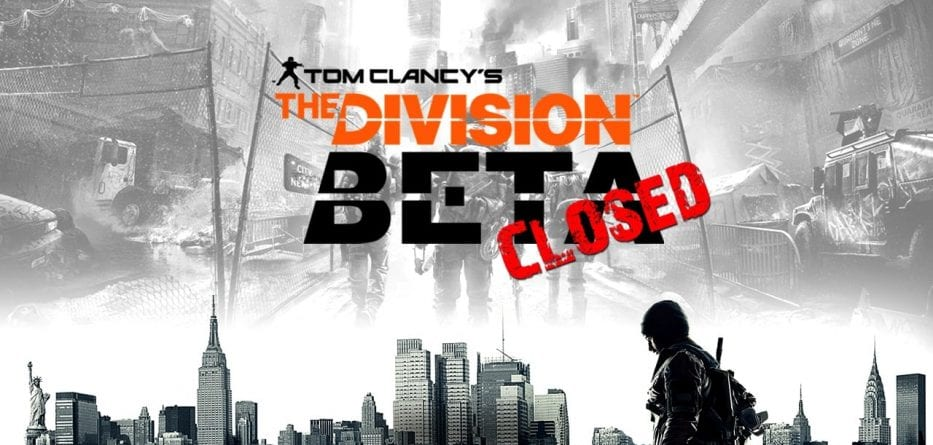 (Rumor) La Closed Beta di The Division inizierà a fine gennaio?