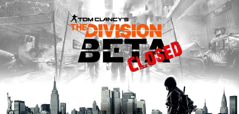 (Rumor) La Closed Beta di The Division inizierà a fine gennaio?