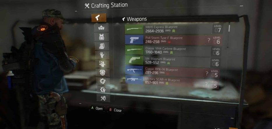 Tom Clancy's The Division, un video mostra il sistema di crafting