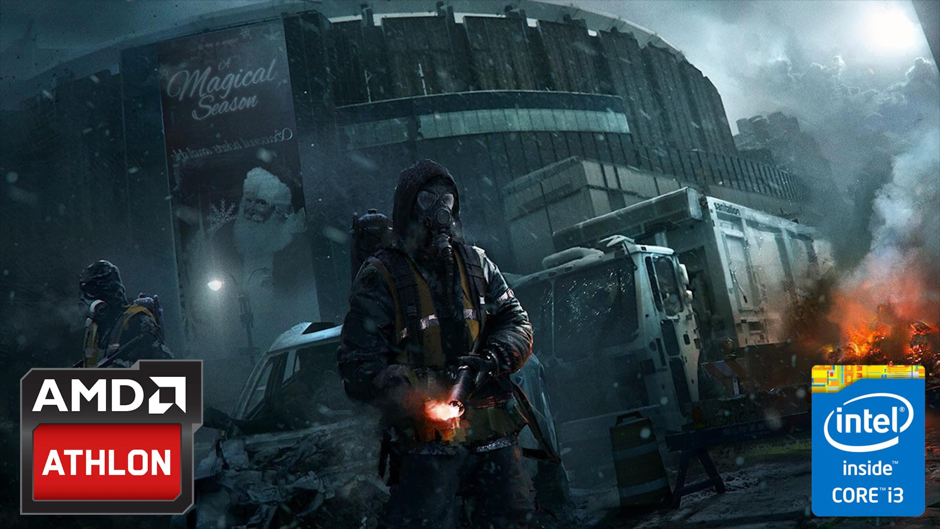 AMD vs Intel - Video confronto - The Division GTX 950