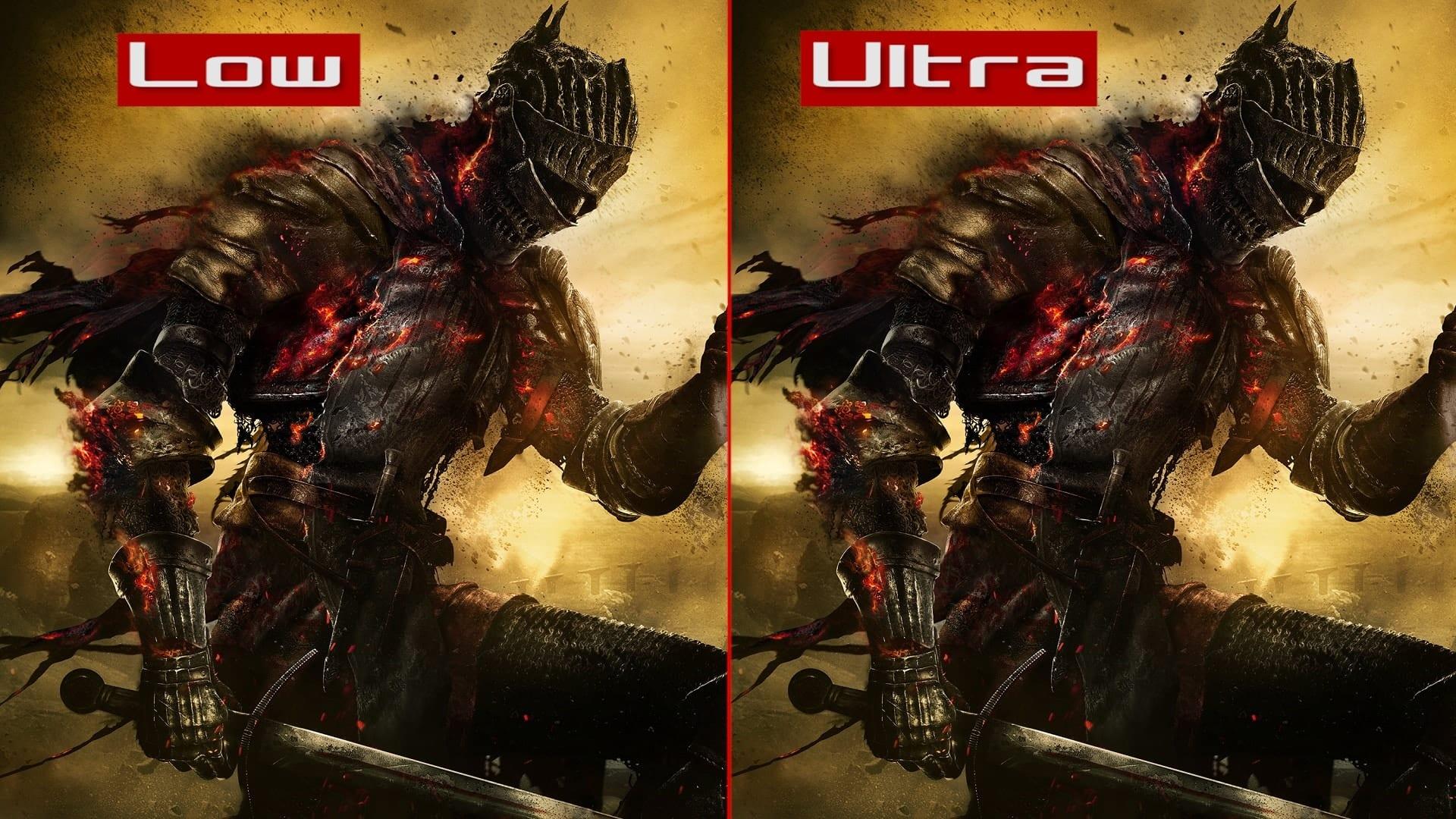Dark Souls 3 - Videoconfronto Impostazioni Grafiche