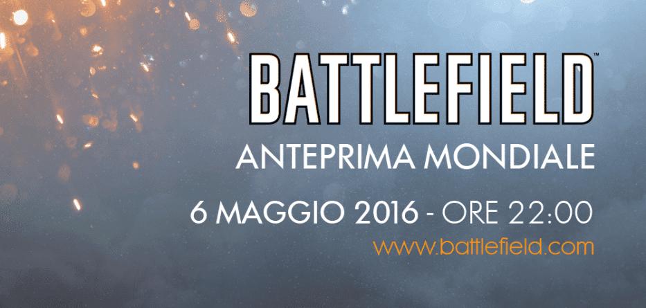 Il nuovo Battlefield - Diretta Streaming il 6 maggio