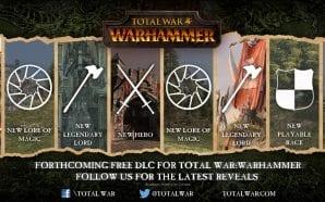 Total War: WARHAMMER - Annunciato il piano di rilascio dei DLC gratuiti