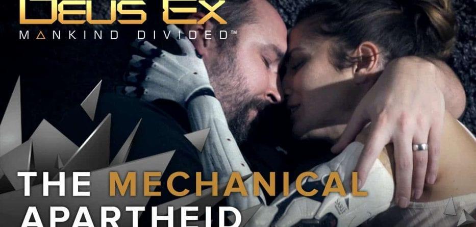 """Deus Ex: Mankind Divided - Live Action Trailer """"Apartheid Meccanica"""""""