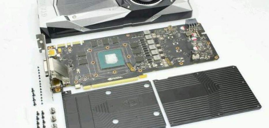 NVIDIA GeForce GTX 1080 - Prime Foto del PCB Reference 3