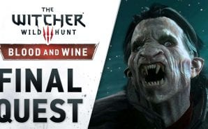 "Disponibile il nuovo trailer ""Final Quest"" per The Witcher 3: Wild Hunt - Blood and Wine"