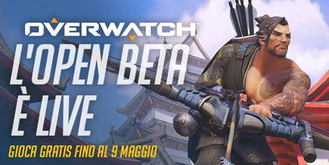 L'Open Beta di Overwatch è disponibile su PC