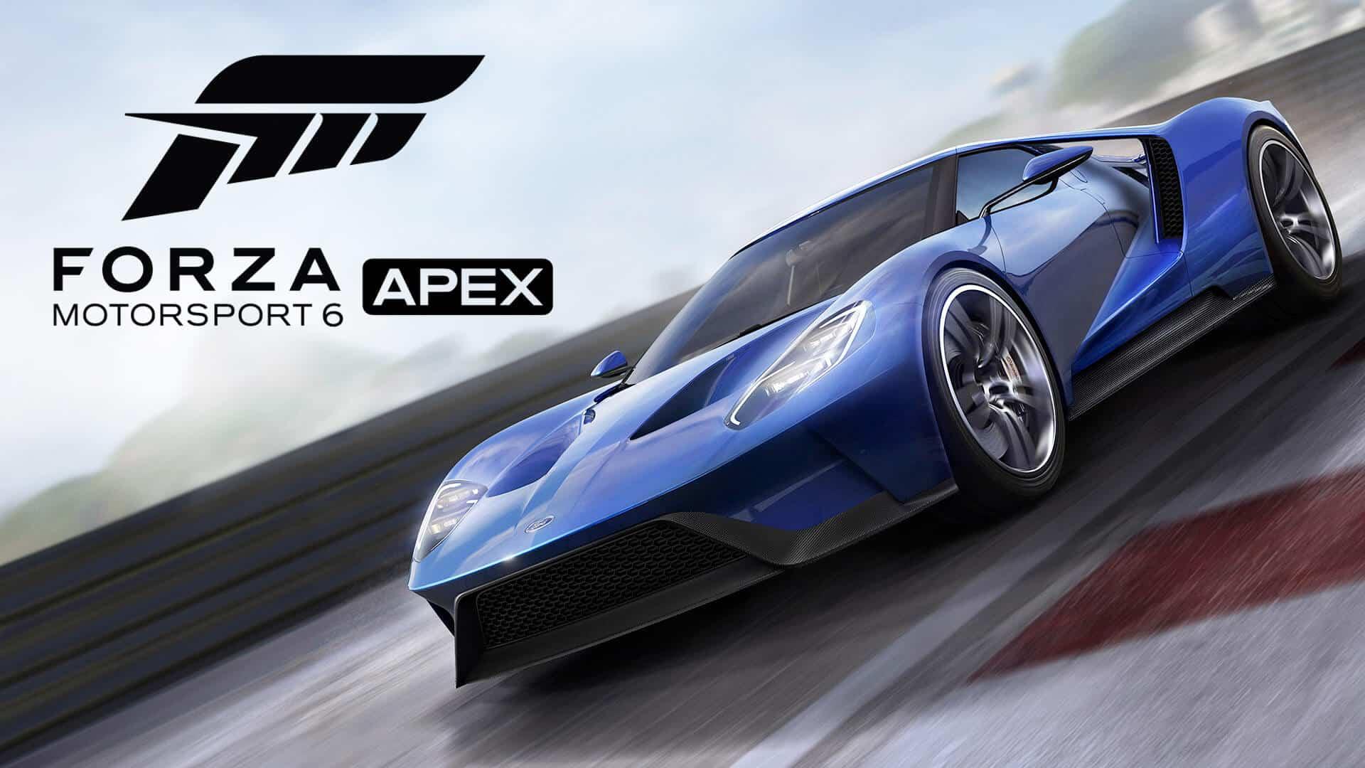 Forza Motorsport 6: APEX ,rilasciato un nuovo aggiornamento
