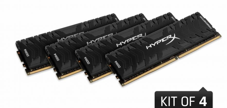 HyperX presenta un nuovo design per le Predator DDR4 e DDR3