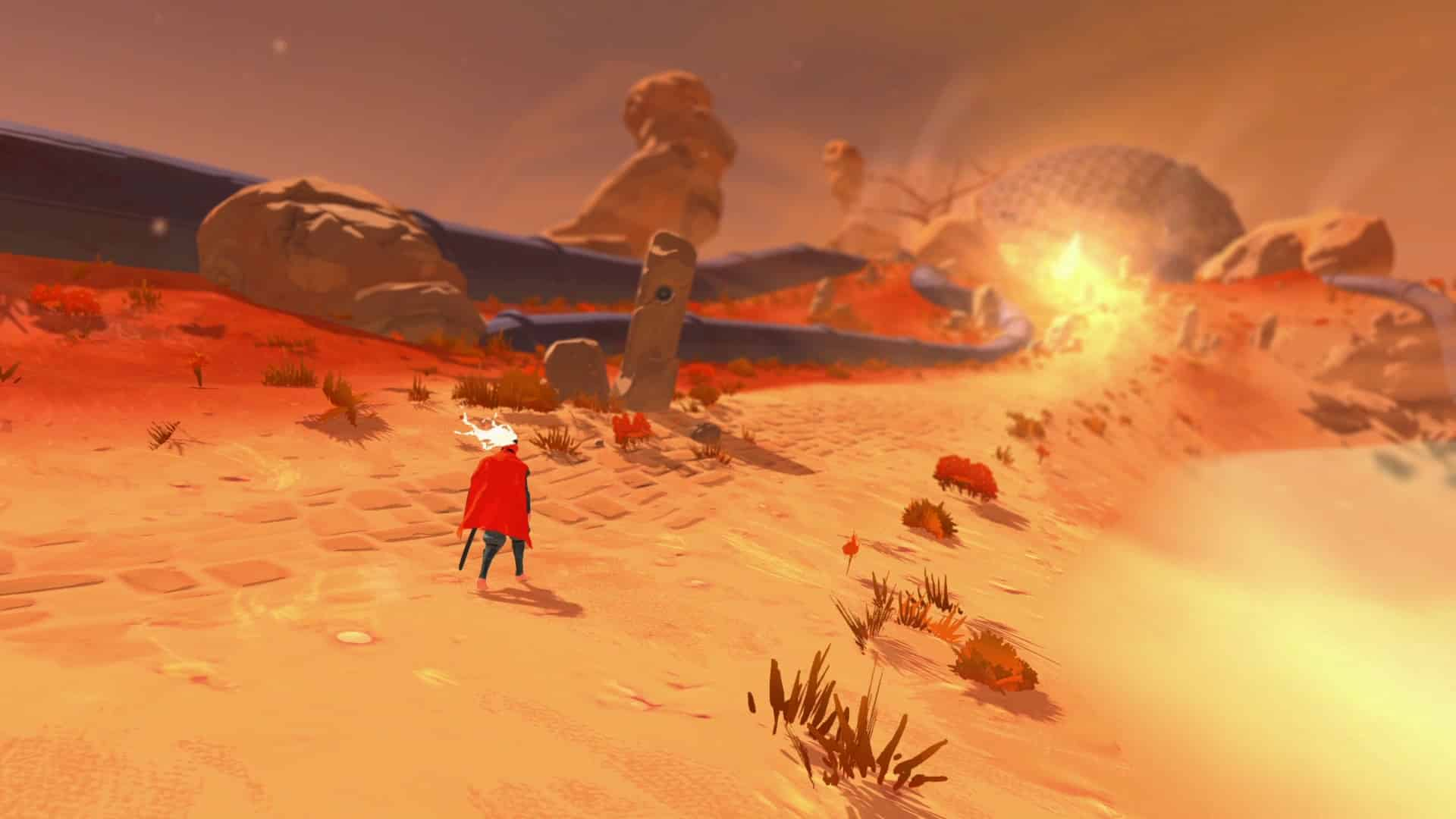 Furi è disponibile su Steam