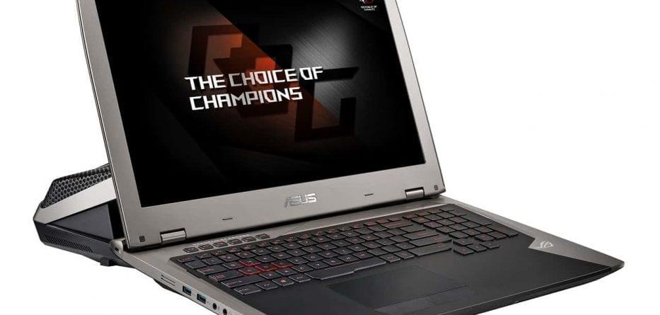 ASUS presenta in Italia il notebook ROG GX700: schermo 4K e raffreddamento a liquido 1