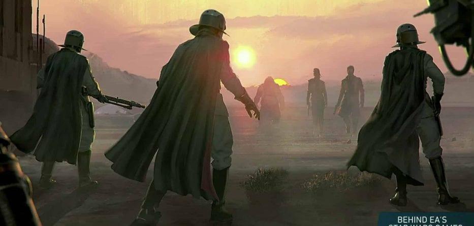 Visceral Games rilascia dei concept arts del suo titolo basato su Star Wars 3