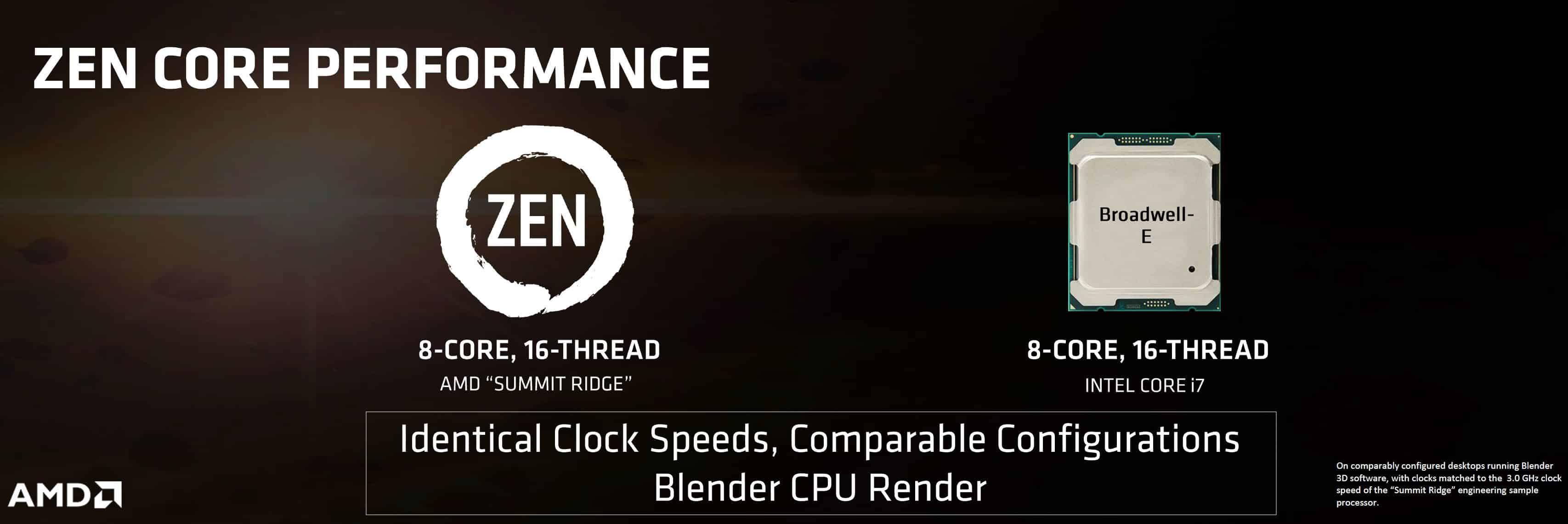 AMD Zen: nuove informazioni, prestazioni superiori a Intel Broadwell-E | PC-Gaming.it