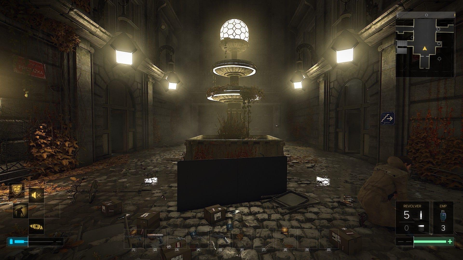 Deus ex mankind divided riflessi basso - Deus Ex: Mankind Divided - Recensione