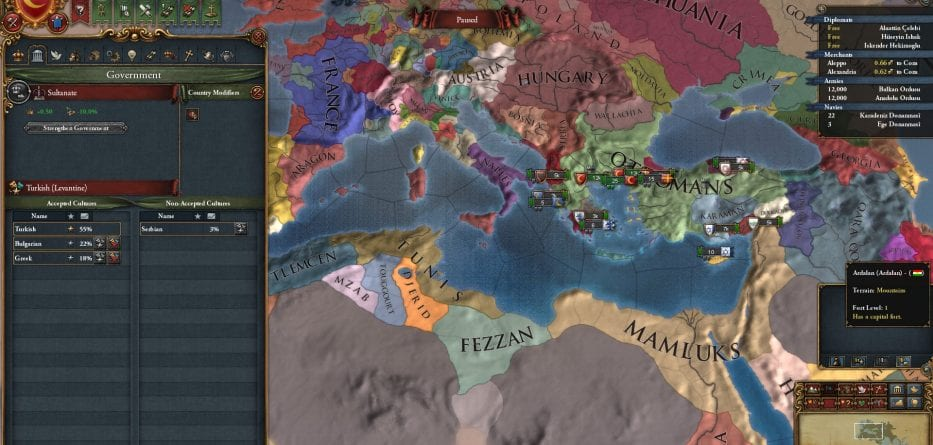 EU IV Rights of Man Recensione
