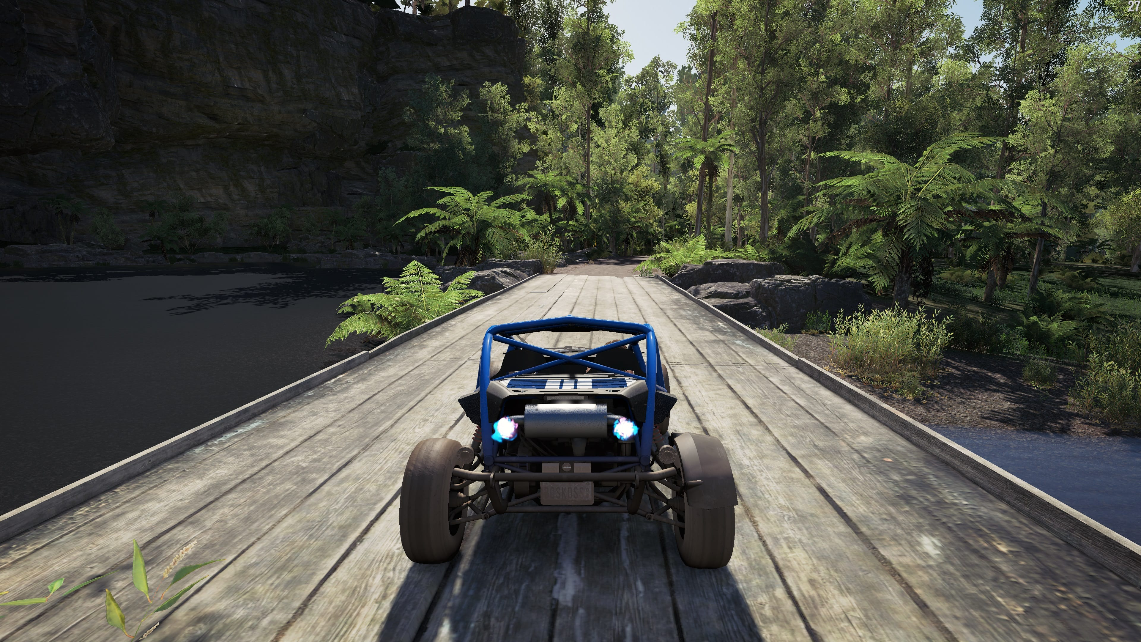 Forza Horizon  Car Gets Off The Ground On Hills