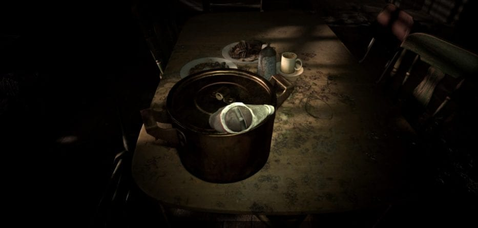 Resident Evil 7 Demo 14 933x445 - Resident Evil 7 Demo: come ottenere la moneta sporca