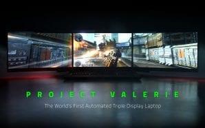 """Razer svela """"Project Valerie"""", il primo PC portatatile al mondo…"""