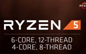 AMD Ryzen 5 dall'11 Aprile – Specifiche, prezzi per le…