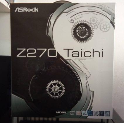 ASRockTaichScatolaFronte FILEminimizer 424x420 - ASRock Z270 Taichi - Recensione