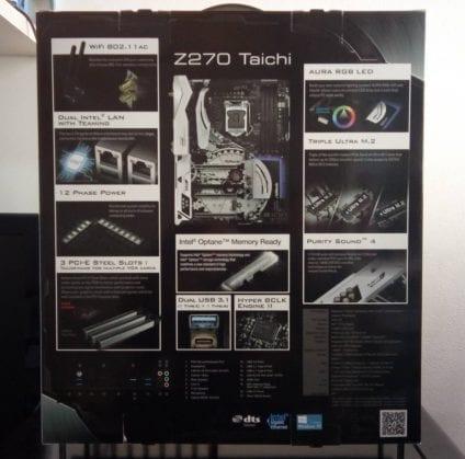 ASRockTaichScatolaRetro FILEminimizer 424x419 - ASRock Z270 Taichi - Recensione