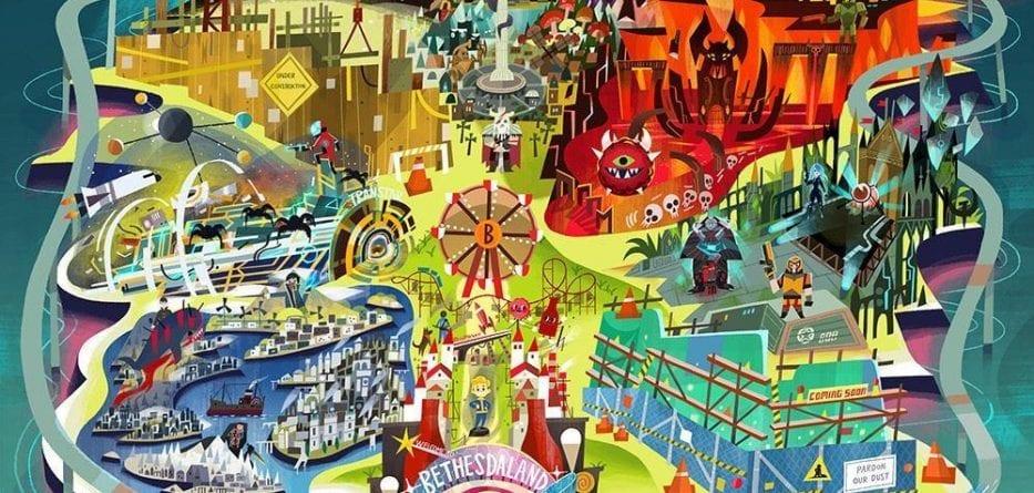 bethesda artwork 933x445 - Bethesda potrebbe avere due nuovi titoli da annunciare all'E3