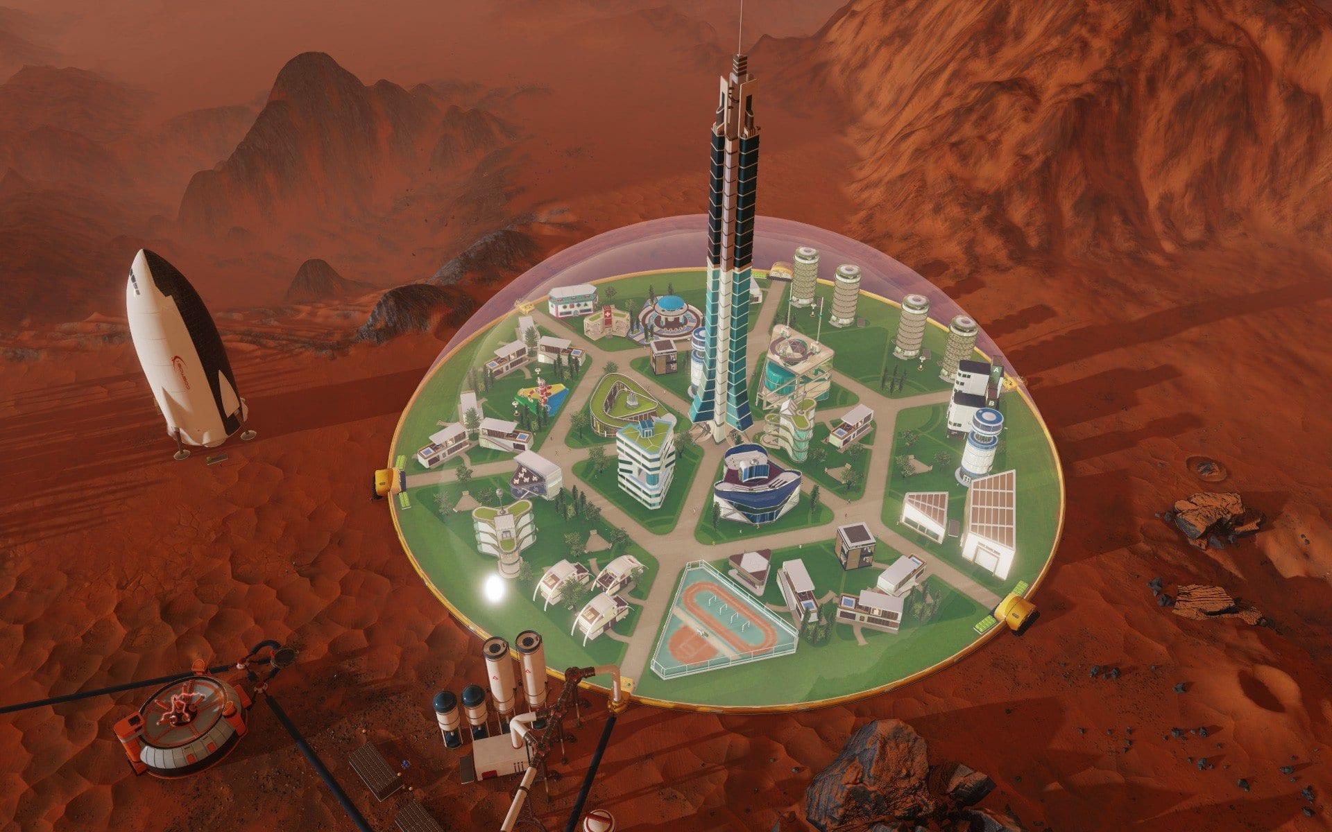 Surviving Mars annuncio 1 - Surviving Mars, il survival-builder, è adesso disponibile