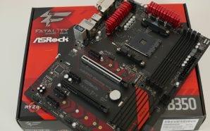 ASRock Fatal1ty AB350 Gaming K4 – Recensione