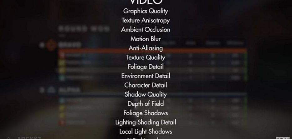 destiny2 grafica 933x445 - Ecco in anteprima le opzioni grafiche di Destiny 2