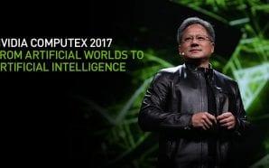 Nvidia terrà un keynote oggi al Computex, che sia l'annuncio…