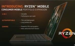 CPU Ryzen e GPU Vega anche nei notebook dalla seconda…