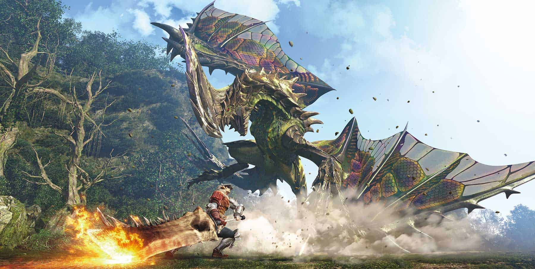 Monster Hunter World 1 - Monster Hunter World: Nuovo trailer con i Draghi Anziani