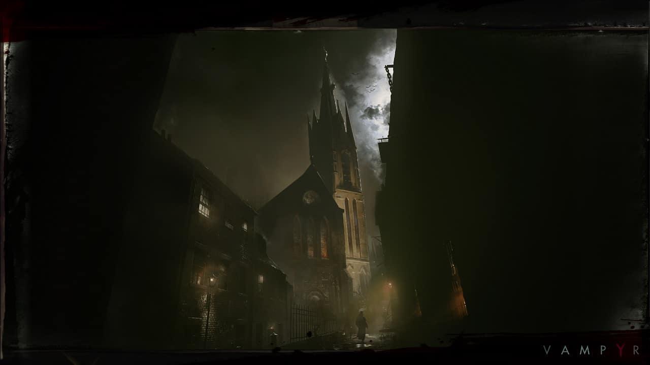 vampyr artwork 02 - Vampyr ha una data di uscita, verrà rilasciato il 5 Giugno