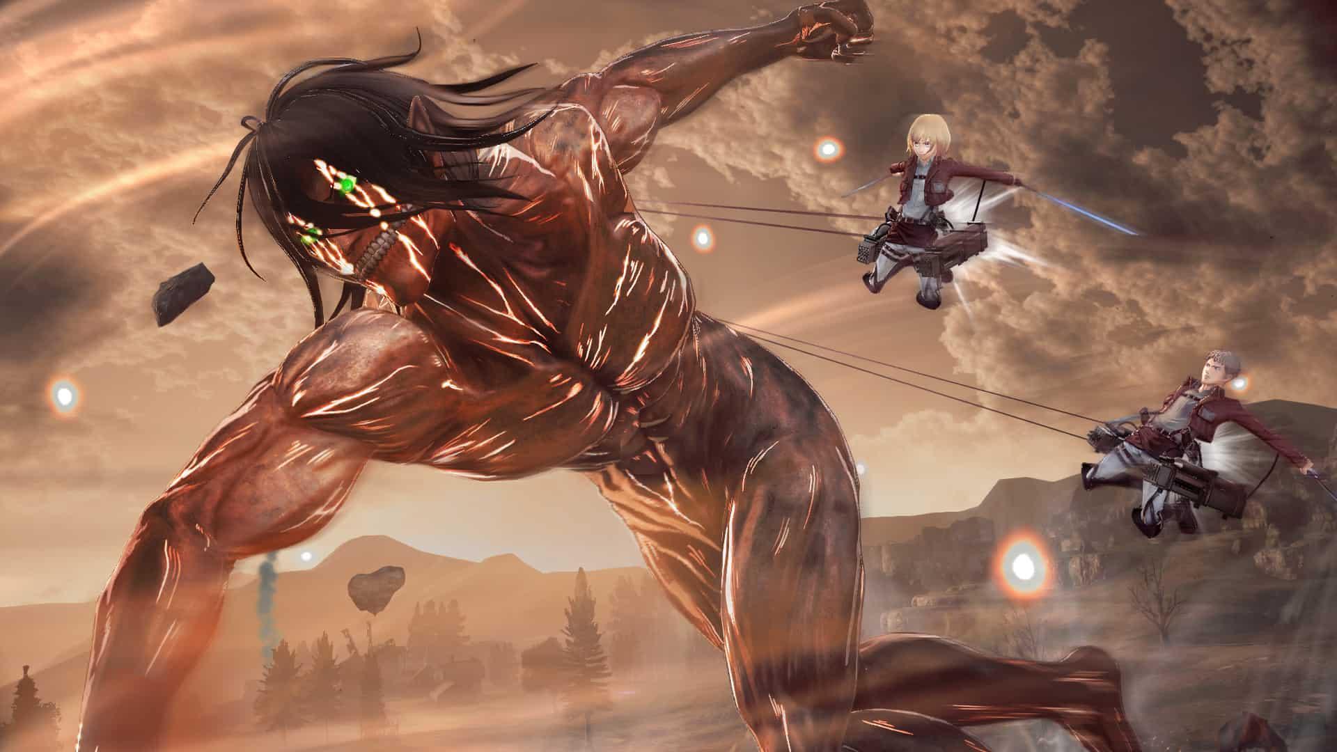 AttackonTitan2 Screenshot23 - Nuovi trailer gameplay per Attack on Titan 2