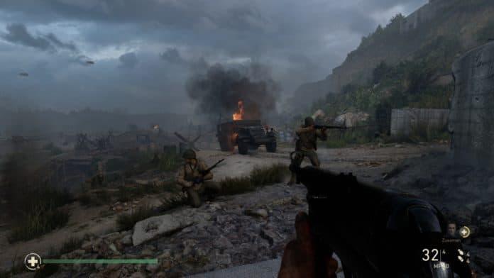 cod ww2 technik check shots 6 6013196 696x392 - Call of Duty WW2 - Recensione e Analisi Tecnica