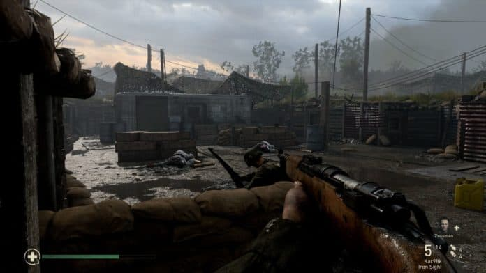 cod wwii screenshot campaign 696x392 - Call of Duty WW2 - Recensione e Analisi Tecnica