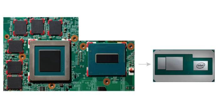 amd radeon, Ufficiale: processori Intel con scheda grafica AMD Radeon