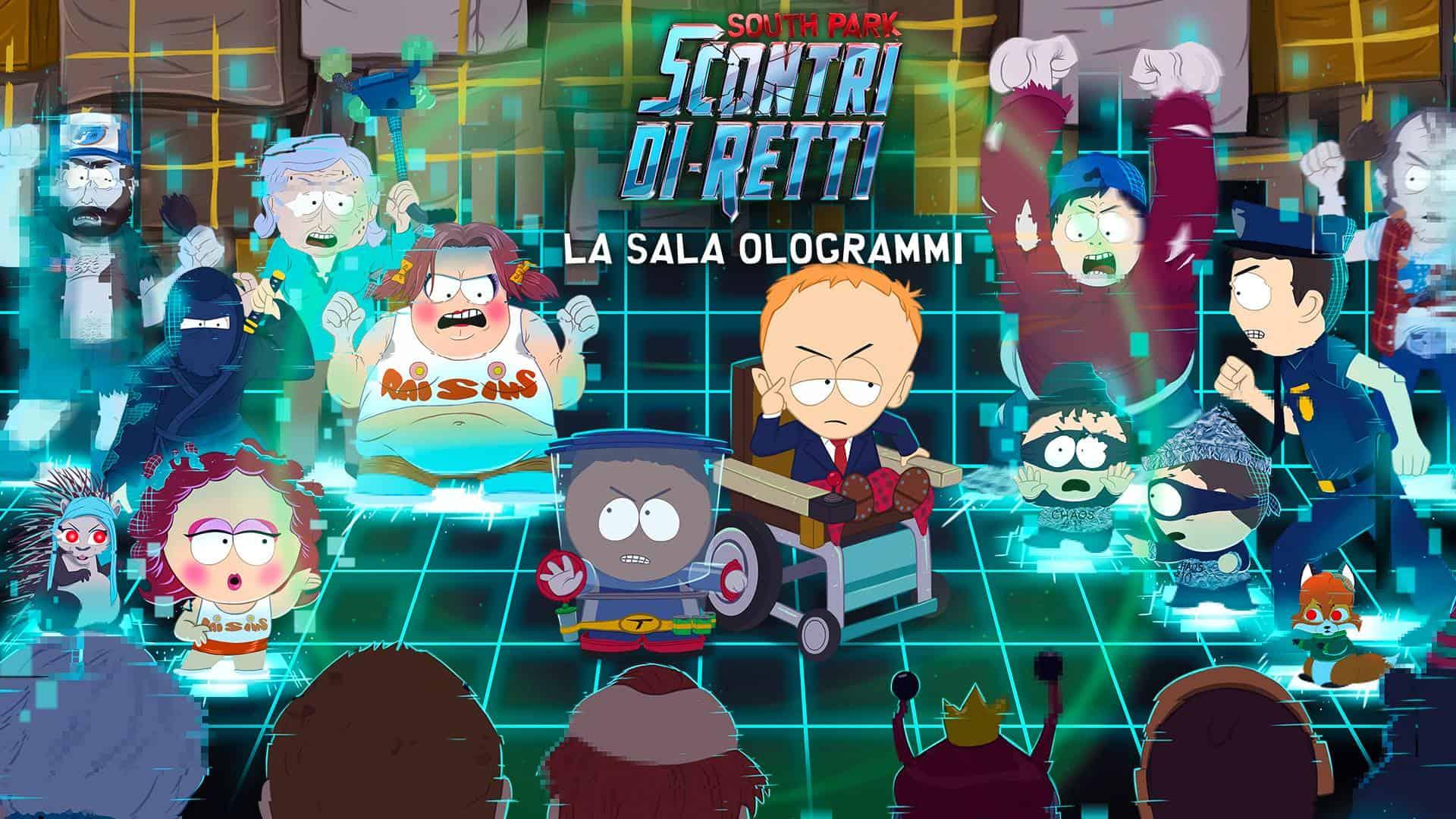La Sala Ologrammi south park - La Sala Ologrammi per South Park: Scontri Di-Retti è disponibile