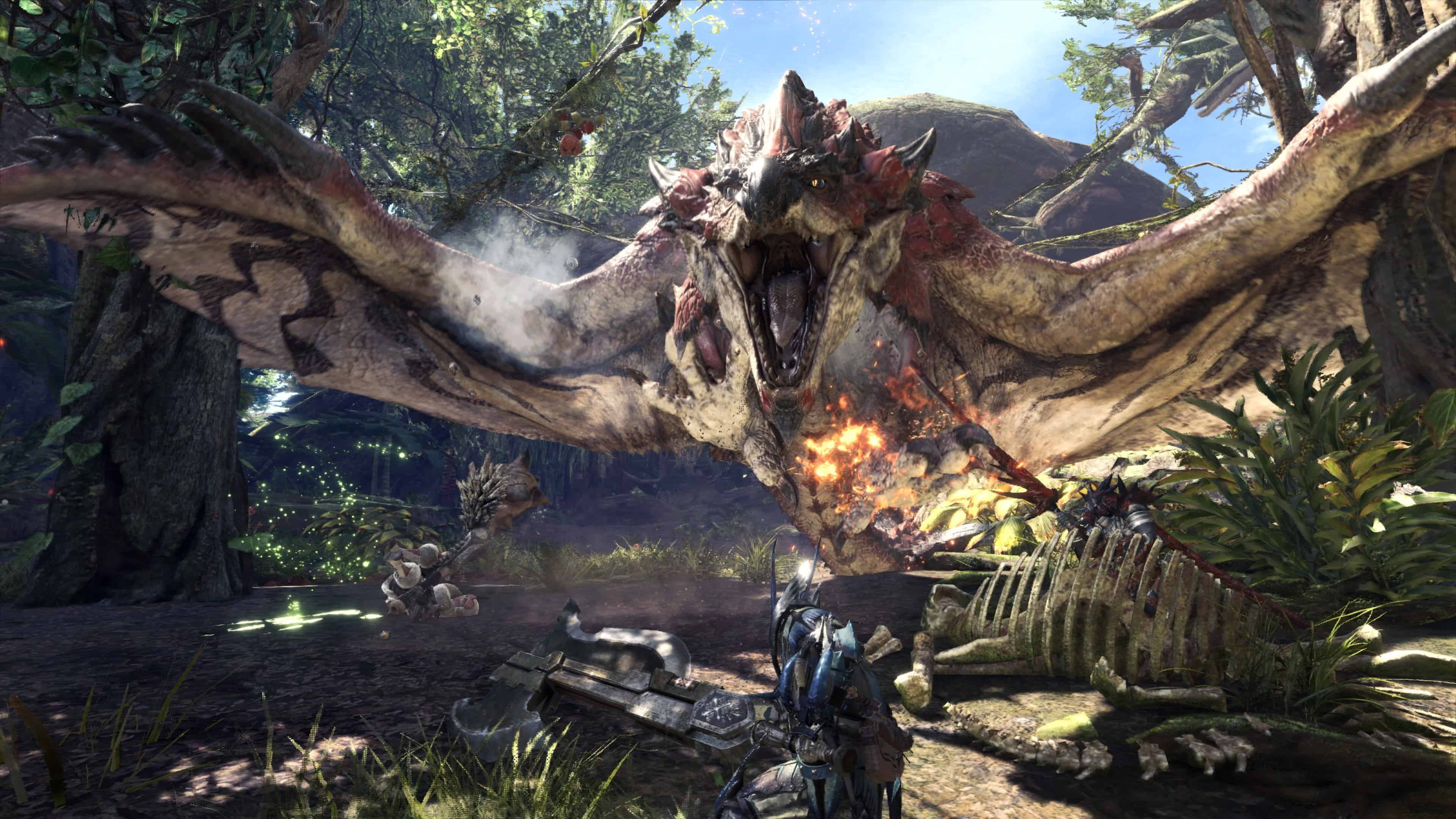 Monster Hunter World mostri gratuiti - Monster Hunter World: La versione PC uscirà in autunno