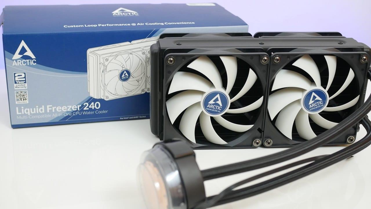 Arctic Liquid Freezer 240 recensione 1 - Arctic Liquid Freezer 240 Dissipatore AIO - Recensione
