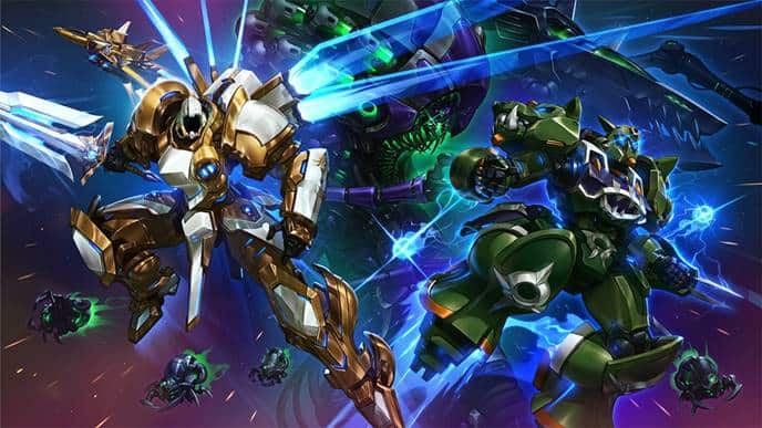 Heroes of the Storm mech - Modelli Mech e aggiornamenti a Tyrael per Heroes of the Storm