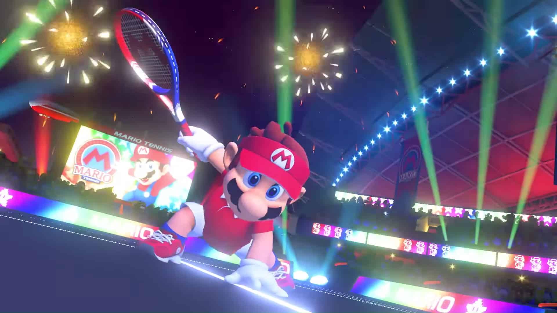 Mario Tennis Aces - Mario Tennis Aces in arrivo su Nintendo Switch in primavera