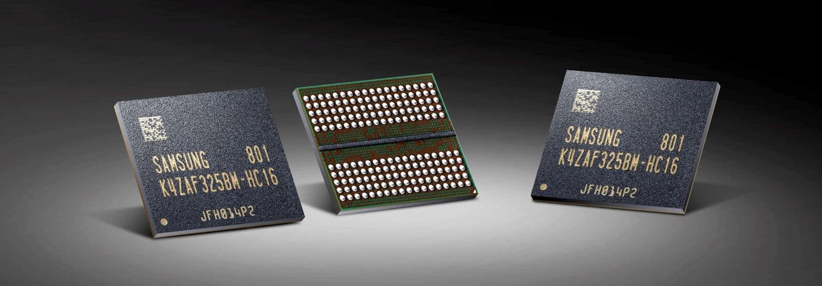 Samsung 16 Gigabit GDDR6   P1 1 - Samsung inizia a produrre le memorie GDDR6 da 16-Gigabit